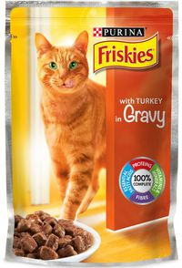 Purina Friskies Cat Food Turkey 100 g