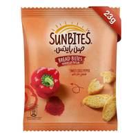 Sunbites Breadbites Sweet Chili Pepper 23g