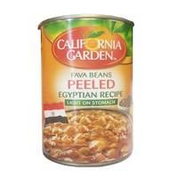 California Garden Egyptian Recipe Peeled Fava Beans 450g