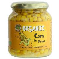 Organic Larder Organic Corn in Brine 170g