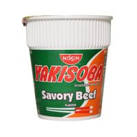 Nissin Yakisoba Instant Pancit Savory Beef Flavor 77g