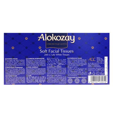 Alokozay-Facial-Tissue-200's
