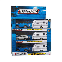 Teamsterz Car And Caravan Assorted