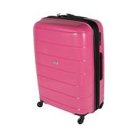 ترافل هاوس حقيبة سفر خامة صلبة من البولي بروبلين مقاس 28 إنش لون زهري