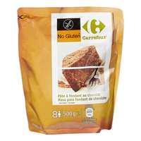 كارفور خليط الكيك بالشوكولاتة خالي من الغلوتين 500 غرام
