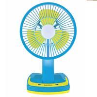 Suntech Portable Fan With Led Light 8 Inch