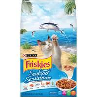 Purina Friskies Seafood Sensations Cat Dry Food 1.42 Kg