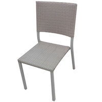 Hk Steel Wicker Chair61X46X85Cm
