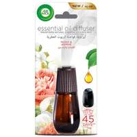 Air Wick Air Freshener Essential Oil Diffuser Refill, Peony & Jasmine 20ml