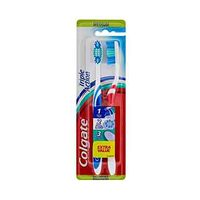Colgate Toothbrush Triple Action Medium Twin Pack