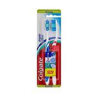 Colgate Toothbrush Triple Action Medium Twin Pack