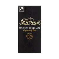 Divine 85% Dark Chocolate Exquisitely Rich 100GR