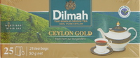 Dilmah Ceylon Gold Tea 25's