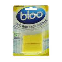 Bloo Citrus Zest Anti Bac Cage Refills 40g