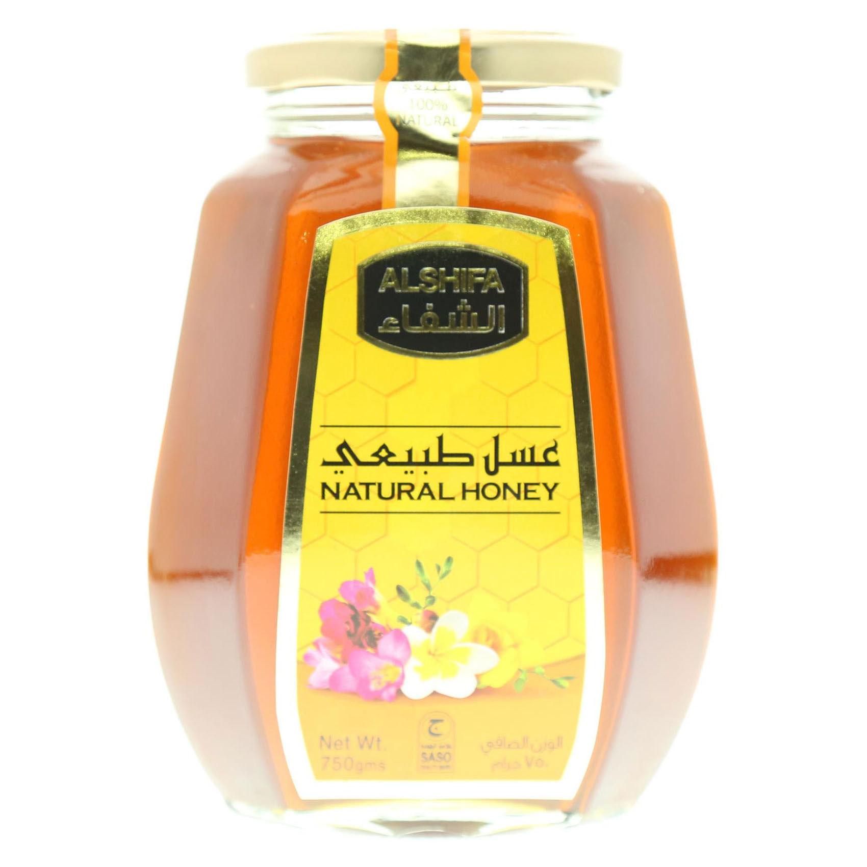 AL SHIFA HONEY NATURAL JAR 750G