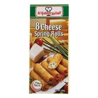 Al Kabeer 8 Cheese Spring Rolls 240g