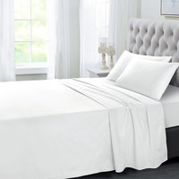 Tendance's Fitted Sheet King White 198X203
