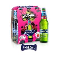 Barbican Malt Beverage Rasberry 330ML X6
