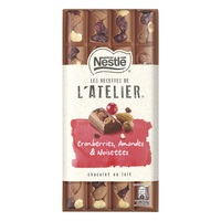 Nestle Atelier Cranberries Hazelnuts Almonds 195g