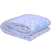 3D Super Soft Flannel Blanket Double Blue