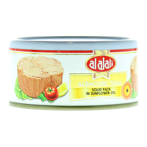 Al-Alali-Albacore-Tuna-Solid-Pack-In-Sunflower-Oil-170g