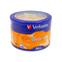 Verbatim DVD-R WRP Matt Silver 4.7GB 16x Speed Pack OF 50