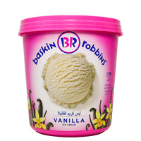 Baskin Robins Vanilla Ice Cream 2L