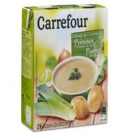 Carrefour Cream of Leek & Potato 300mlx2
