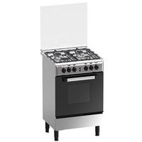 Haier 50X50 Cm Gas Cooker ECR-1040EGS 4Burners