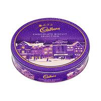 Cadbury Biscuit Selection Christmas Tin 247GR