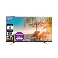 تلفزيون أي فيو بشاشة إل أي دي سمارت بتقنية 4K حجم 50 إنش موديل 50XU لون أسود