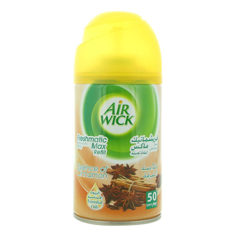Air-Wick-Essence-of-Cinnamon-Freshmatic-Max-Refill-Automatic-Spray-250-ml