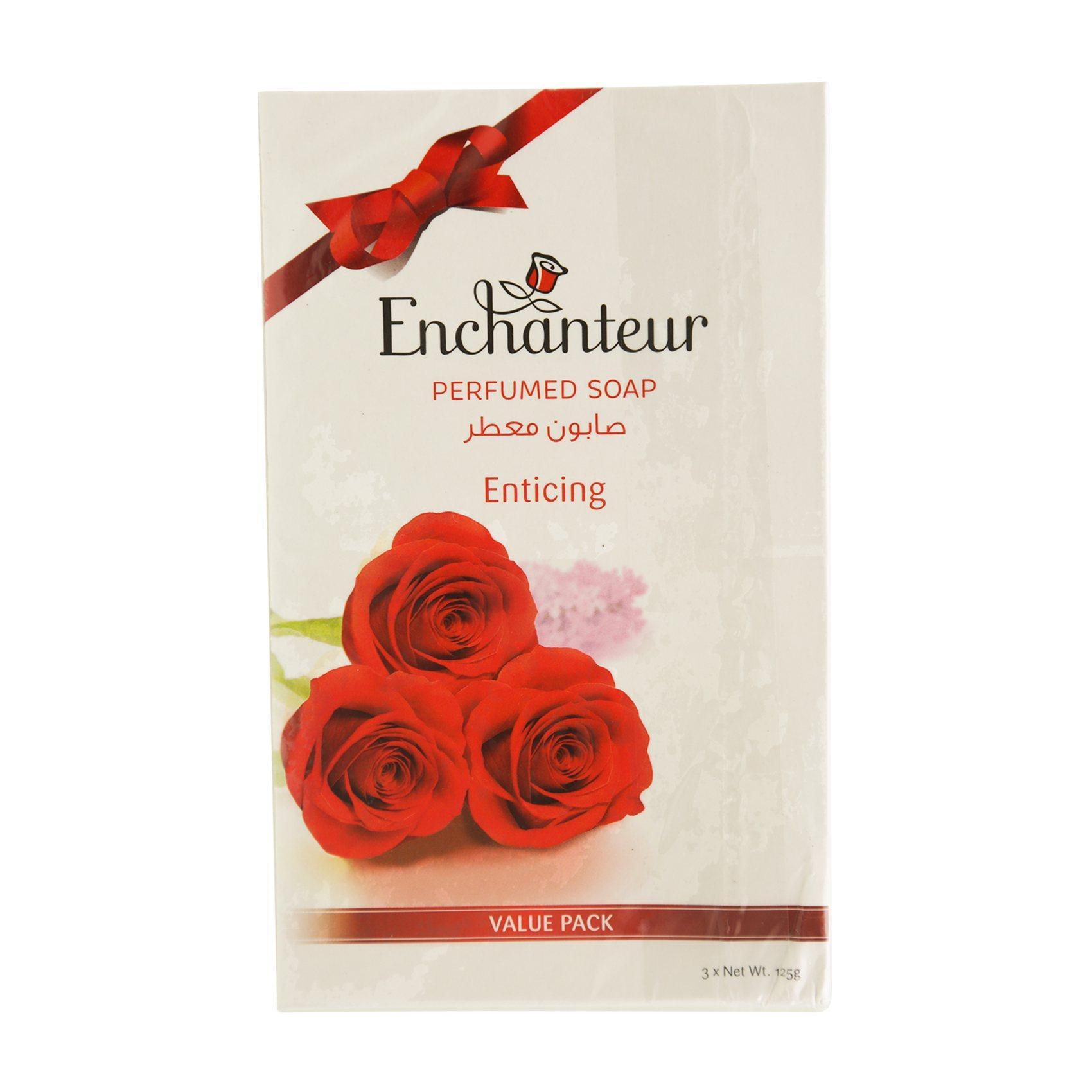 ENCHANTEUR ENTICING SOAP 125GX3