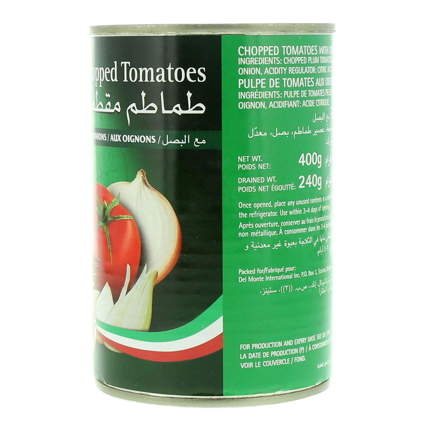 DEL MONTE CHOP TOMATO ONION 400G