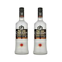 Russian Standard Original 40% Alcohol Vodka 70CL X2