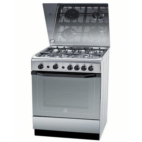 Indesit-60X60-Cm-Gas-Cooker-I6TG1GXGHEX-4Burners