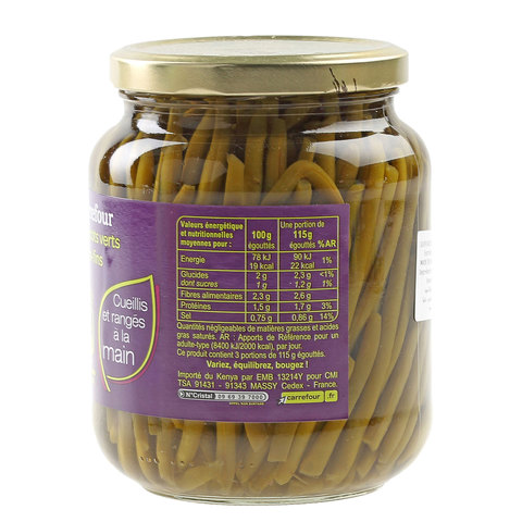 Carrefour-Green-Beans-Extra-fine-Jar-700ml