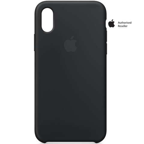 Buy Apple Case iPhone X Silicon Black Online - Shop Apple on ... 6bdf13f49