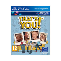 That's You! Playstation 4 Disk