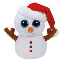 """TY - Beanie Boos Scoop-Snowman 9"""" - White"""