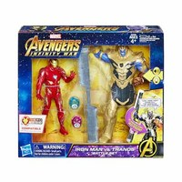 Marvel Avengers Infinity War Iron Man Vs. Thanos