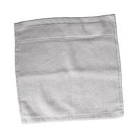 كنزي منشفة للوجه قياس 30x30 سم لون أبيض