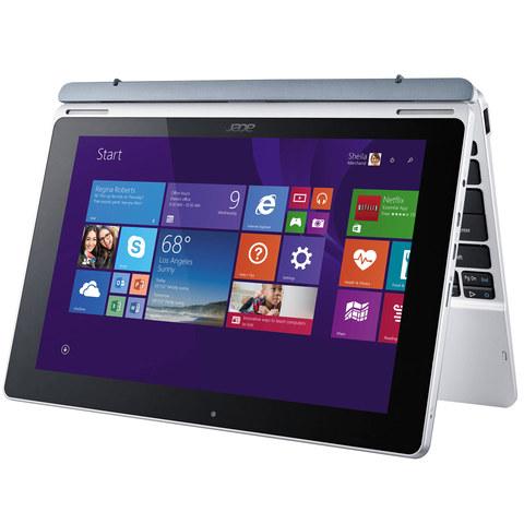 """Acer-2-in-1-Aspire-Switch-SW3-013-Z3735-2GB-RAM-32GB-Memory-10.1""""-White"""