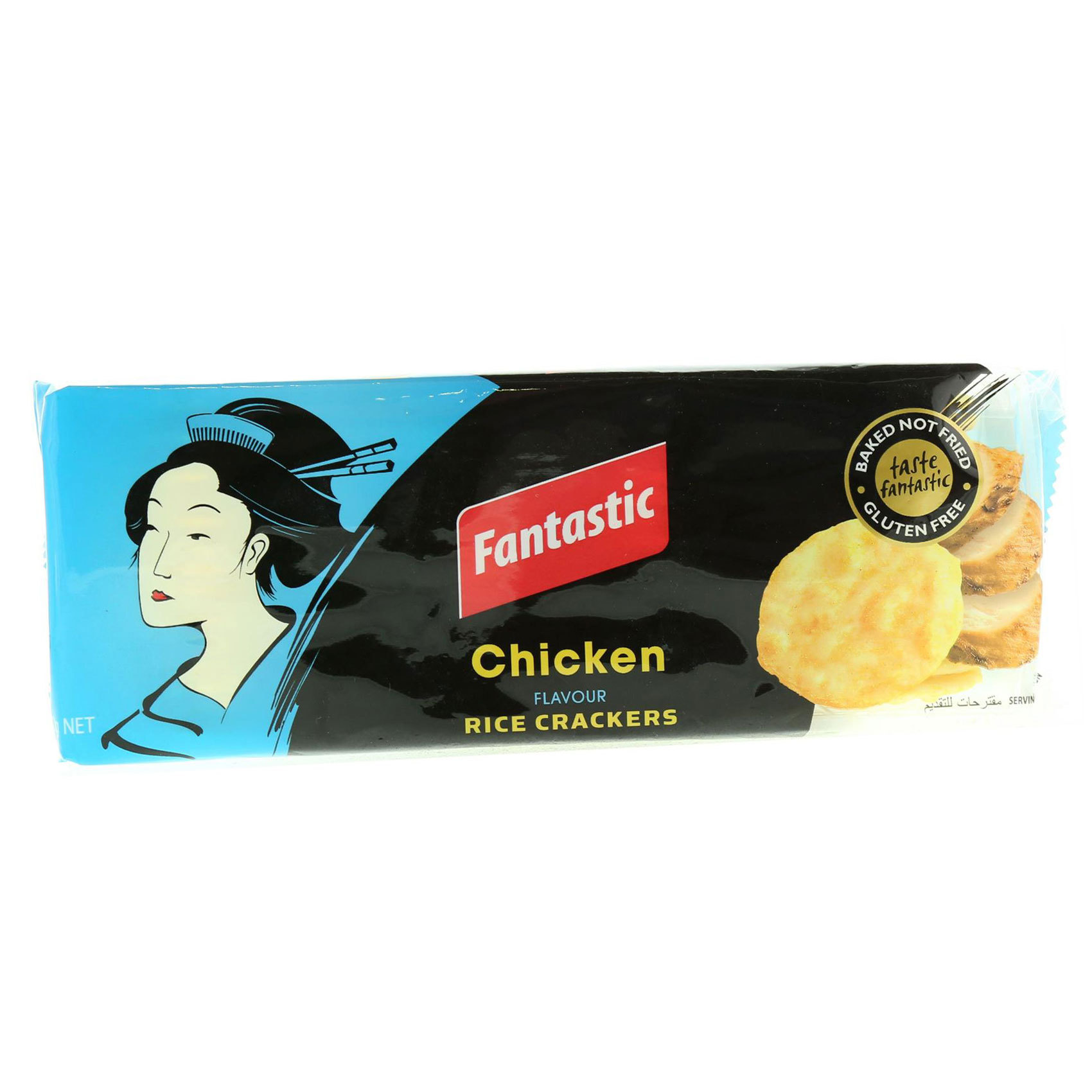 FANTASTIC RICE CRACKERS CHICKEN 100