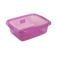 أوكسان وعاء مربع بلاستك 5.5 لتر