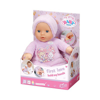 Baby Born First Love Hold Toys