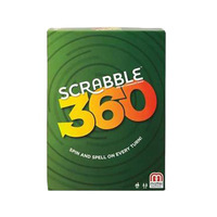 Scrabble 360 Spin & Spell On Every Turn Game- French