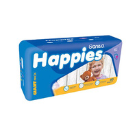 Happies Diapers Giant Pack + Regular + Mattress Size 5