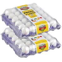 Farmer's Choice Medium Eggs 30's x2