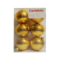 Sunny Balls Gold Set Of 6 6CM